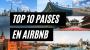Los mejores destinos en Airbnb